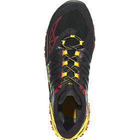 La Sportiva Bushido Running Shoes Men Black/Yellow